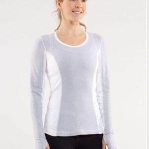 Lululemon athletica Run Switch back Long Sleeve